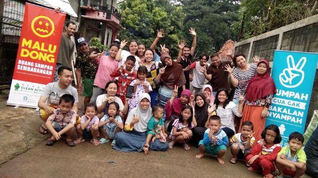 Program tata gang yang masih baru diimplementasikan (dok Bekasi Clean Action)