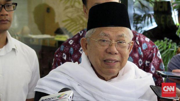 KH Ma'ruf Amin mengungkapkan Hari Santri merupakan bentuk pengakuan pemerintah terhadap peran santri menentang penjajah.