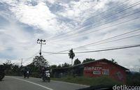 Jaringan listrik di Sanggau.