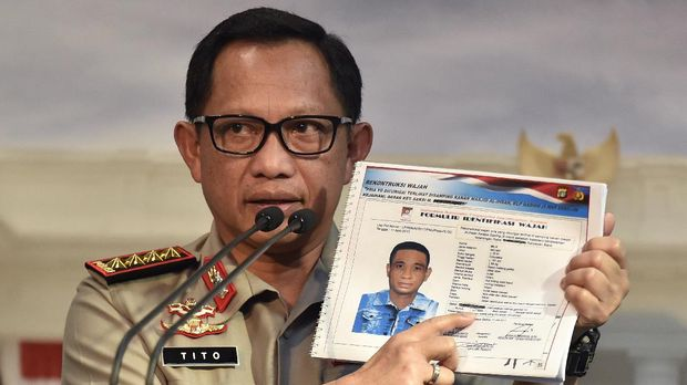 Jokowi Tagih Janji Kapolri Tuntaskan Kasus Novel