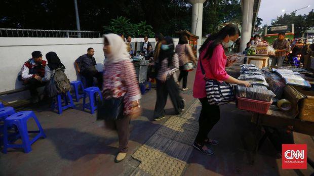 PKL Enggan Jadi Kambing Hitam Semrawutnya Trotoar Ibu Kota
