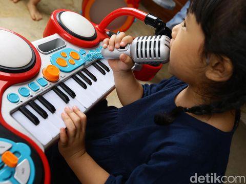 Manfaat musik bagi anak