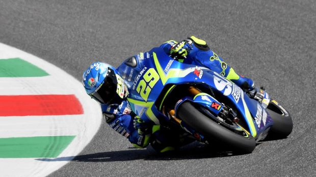 Andrea Iannone meramikan persaingan MotoGP Australia.