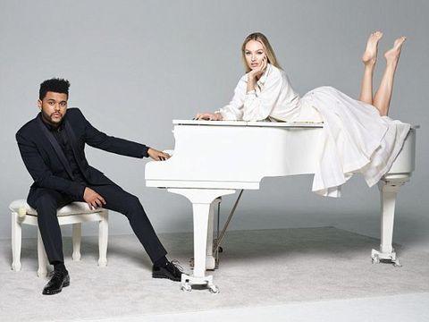 The Weeknd Mesra-mesraan dengan Adriana Lima dan Irina Shayk