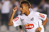 Neymar saat remaja.
