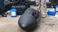 Gelar Latihan Tempur, Pasukan Katak Gunakan Peralatan 'James Bond'