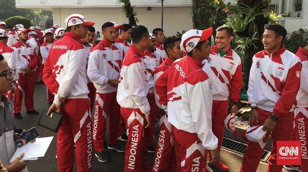 Ketua Umum PSSI Edy Rahmayadi optimistis Timnas Indonesia bisa meraih emas SEA Games 2017. (