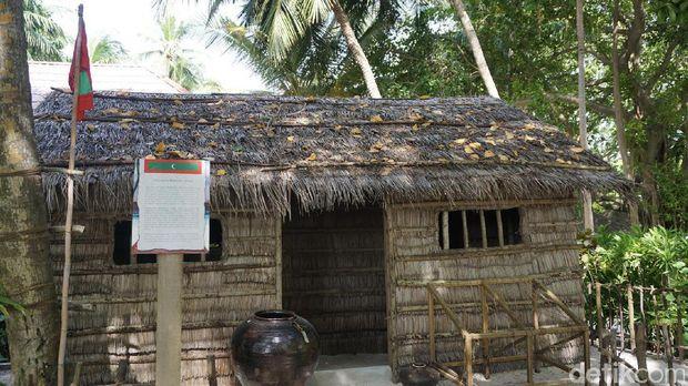 Inilah Rumah asli Maldives (Afif/detikTravel)