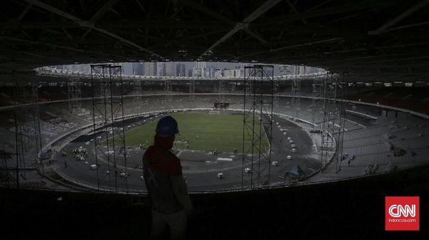 Biaya sewa venue Stadion GBK rata-rata mencapai Rp28 miliar.