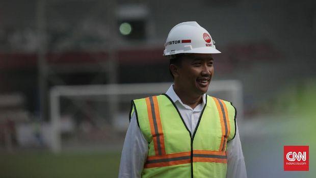Menpora RI Imam Nahrawi menyampaikan, kapasitas Stadion Utama GBK akan mengalami pengurangan setelah proses renovasi. (