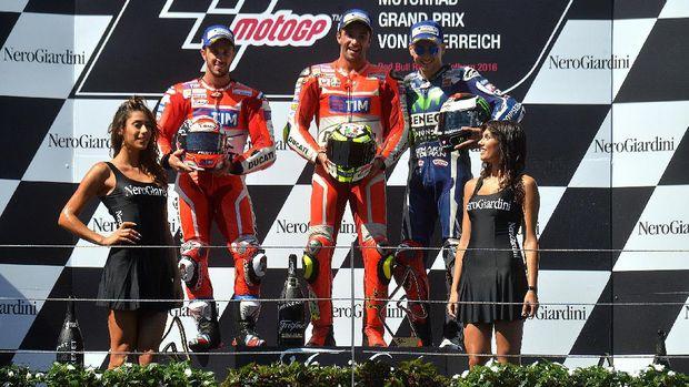 Ducati mendominasi balapan GP Austria musim lalu.