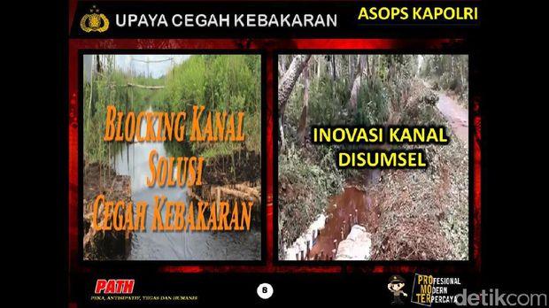 Asops Kapolri: Hotspot di Riau Turun 18,69 Persen