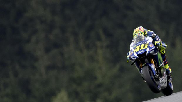Valentino Rossi meyakini Red Bull Ring tidak cocok untuk Yamaha.