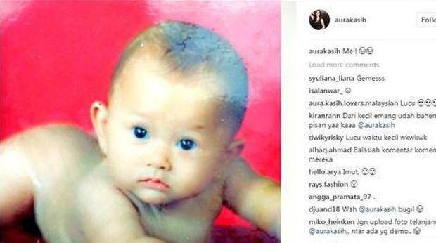 Aura Kasih Pajang Potret Bugil di Instagram