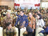 Jokowi di Ipex 2017