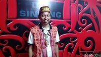 Ketua Dewan Adat Dayak (DAD) Kabupaten Sintang, Jeffray Edward (Rachman Haryanto/detikTravel)