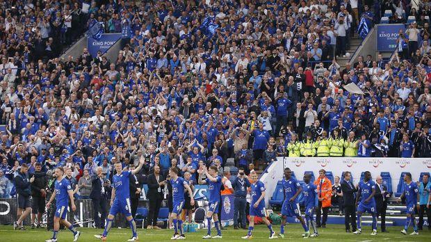 Leicester City jadi juara Liga Primer Inggris lewat kerja sama tim yang apik sepanjang musim.