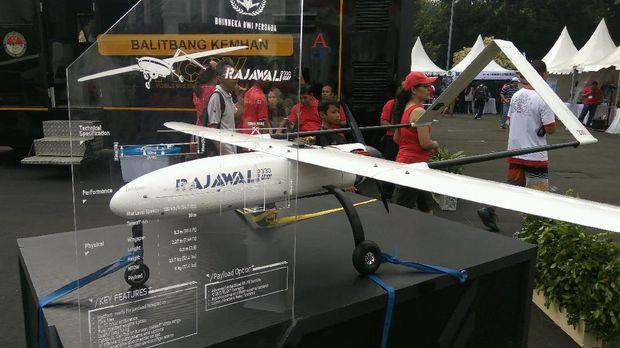 Drone buatan industri pertahanan dalam negeri