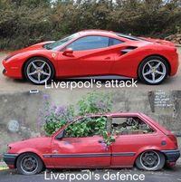 Liverpool: Lini Depan bak Ferrari, Eh Lini Belakangnya...