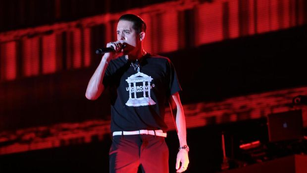 G-Eazy Goyang Panggung We The Fest 2017