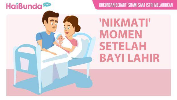 Dukungan Berarti Suami Saat Istri Melahirkan