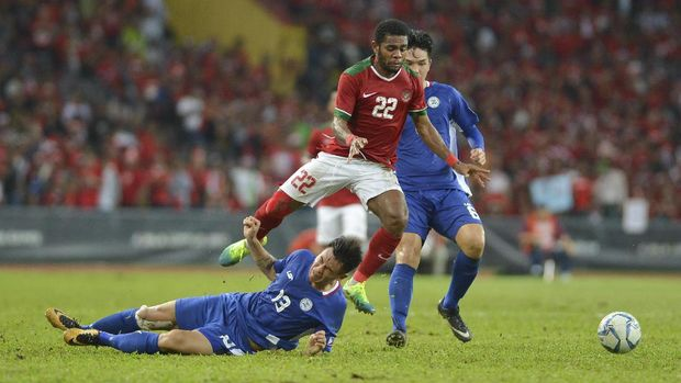 Yabes Roni mencetak gol terakhir Timnas Indonesia.
