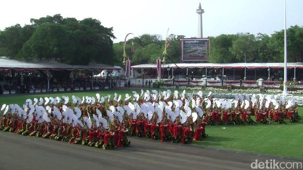 Tari gandrung Banyuwangi di Istana Merdeka/