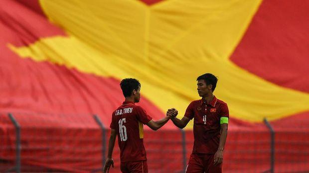 Timnas Vietnam menjadi tim pertama dari Asia Tenggara yang mampu ke final Piala Asia U-23.