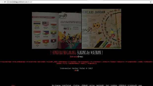Protes, Ini Cara Peretas Bajak Ratusan Situs Malaysia