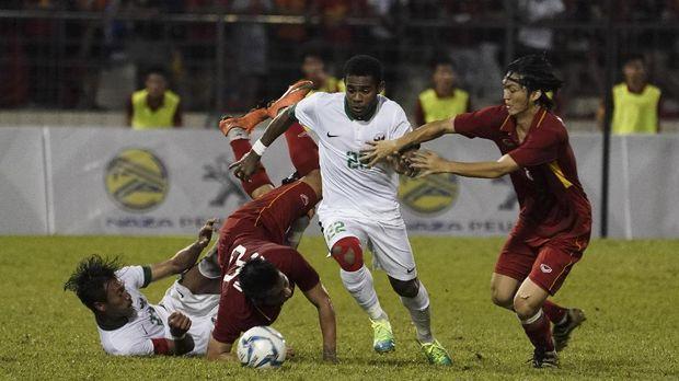 Yabes Roni absen pada latihan perdana Timnas Indonesia U-23.