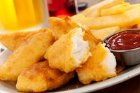 Fish and chips yang terbuat dari ikan penyebab alergi.