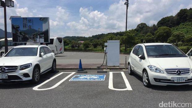 Kapan Ada Rest Area Seperti Ini di RI, Ada Buat Ngecas Mobil Listrik