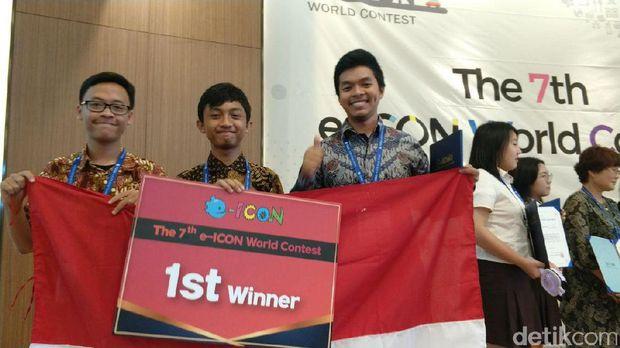 Dua Pelajar Bandung Sabet Juara Kompetisi IT Dunia
