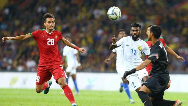 Timnas Indonesia U-22 harus mengakui keunggulan 0-1 dari Malaysia di babak semifinal SEA Games 2017