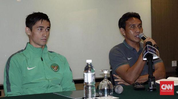Asisten Pelatih Timnas Indonesia, Bima Sakti (kanan) sudah mengetahui kualitas timnya.