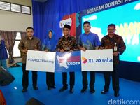Diskon Harga Xl Axiata Nomor Cantik 08 77889900 35 Indonesia Source · XL Ajak Pelanggan Donasi