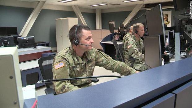 Tentara AS yang bertugas di kompleks pertahanan rudal di Alaska