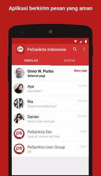 Pesan Kita, Aplikasi Lokal Digadang Seaman Telegram