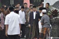 Salat Idul Adha di Sukabumi, Jokowi Ingatkan Soal Keberagaman RI