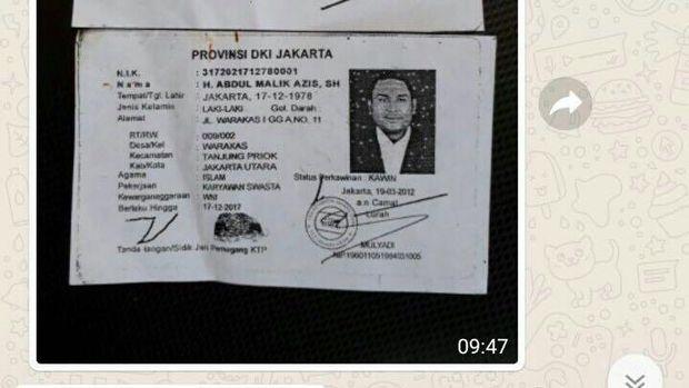 Pelaku pembunuhan tersebut ialah suami korban bernama Abdul Malik Azis yang ditangkap petugas gabungan pada Minggu (3/9)