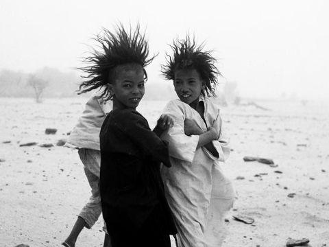 Anak-anak Suku Tuareg./Foto: Bernus Estate