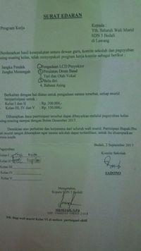 Wali Siswa Sdn Bedali 3 Lawang Keluhkan Pungutan Yang