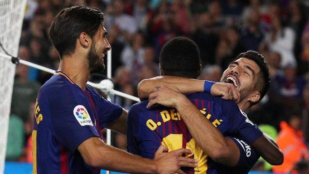 Debut Dembele di Barcelona: Bikin Assist dalam Laga Derby