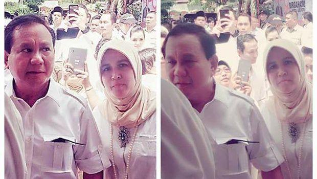 Asma Dewi Pernah Foto Bareng Prabowo, Ini Penjelasan Gerindra