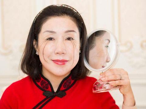 Rekor Dunia Guinness untuk Bulu Mata Terpanjang Jatuh Kepada...