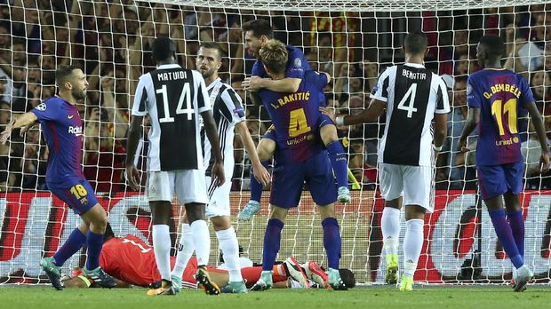 Juventus mengalami kekalahan telak 0-3 di Camp Nou pada pertemuan pertama.