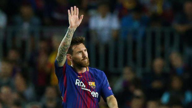 Lionel Messi disebut Ludovic Giuly kerap mengalami persoalan kesehatan selama masih muda. (