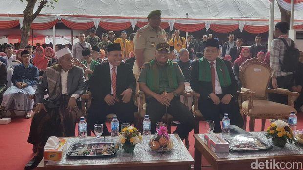 Sebelum penandatanganan deklarasi anti-hoax Panglima TNI Jenderal Gatot Nurmantyo