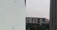 Drone pengantar makanan ke kampus.