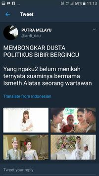 Foto Pernikahan Disebar, Tsamara: Ini Pembunuhan Karakter